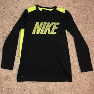Long Sleeve Nike DRI-FIT boys shirt